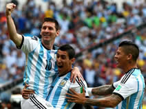 World Cup - Nigeria 2 : 3 Argentina