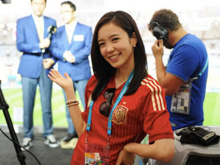 Korean World Cup journalist is the new Internet darling