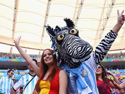 Argentina v Belgium – in pictures
