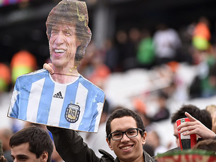 Holland v Argentina – in pictures
