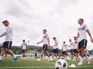Joachim Low's men preparing for World Cup title defense