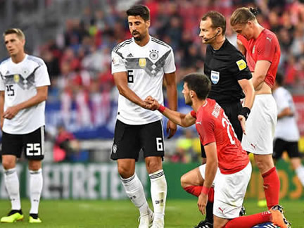PICTURE SPECIAL: Austria 2 - 1 Germany