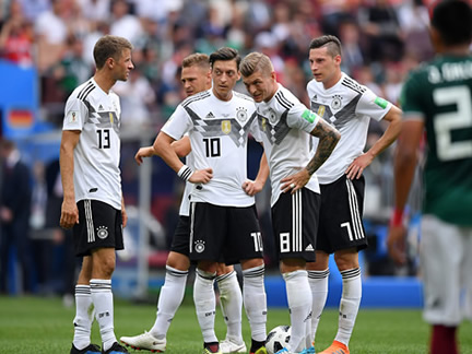 PICTURE SPECIAL: Germany 0 - 1 Mexico
