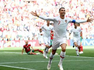 PICTURE SPECIAL: Portugal 1 - 0 Morocco