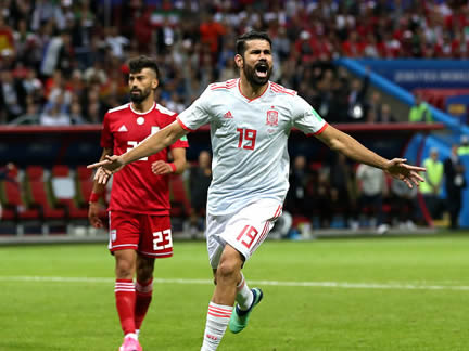 PICTURE SPECIAL: Iran 0 - 1 Spain