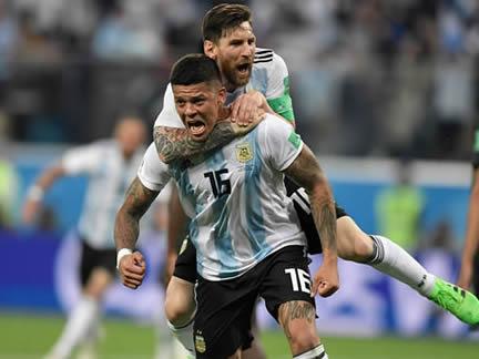 PICTURE SPECIAL: Nigeria 1 - 2 Argentina