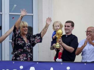 Antoine Griezmann returned to hometown with World Cup trophy