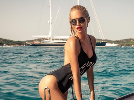 The hot pics of Russian supermodel Victoria Lopyreva