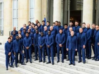 Macron gives prestigious Legion of Honour order to French team