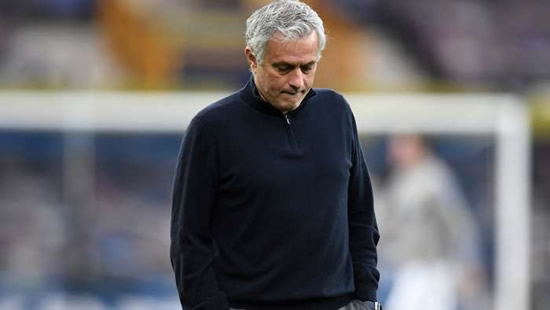 'No need for breaks' - Mourinho ready to get back to work after Tottenham sacking